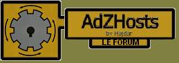 AdZHosts, pour un surf sain et rapide Logo16