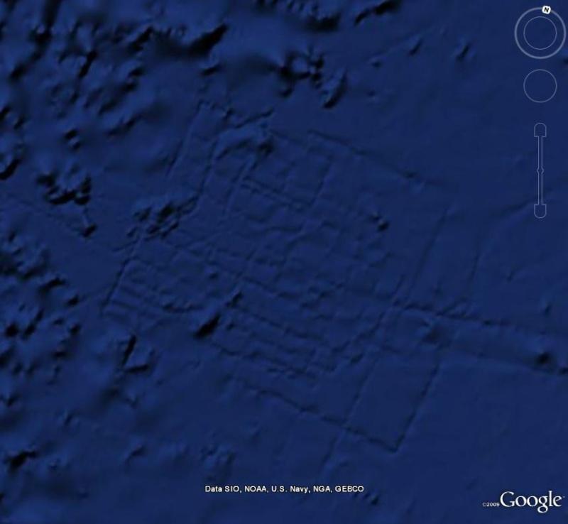 Curieuse formation, naturelle ? , océan atlantique, A_atla10