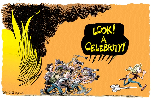 Daryl Cagles, caricaturiste américain, retro années bush A_cari11