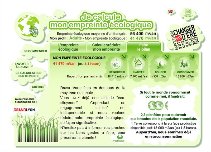 Calculer son empreinte écologique A_ecol10