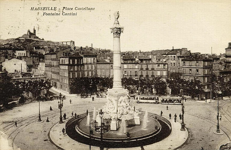 Cartes postales anciennes Vs StreetView A_plac10