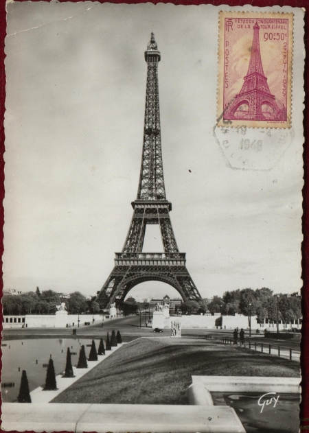Cartes postales anciennes Vs StreetView A_tour27