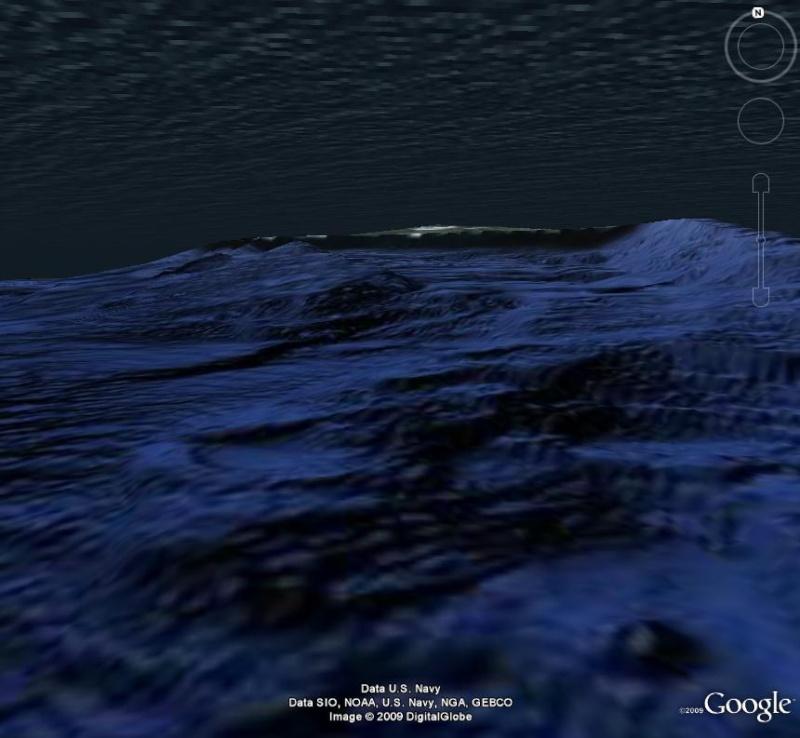 Google sous l'eau,  Hawai, usa, Pacifique A_volc12