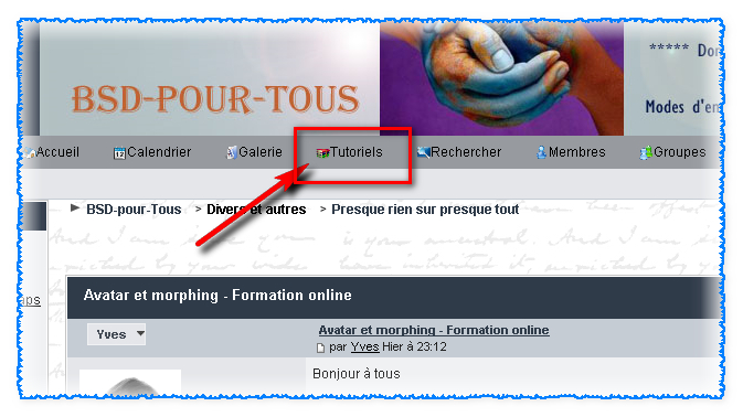 Avatar et morphing - Formation online 1652