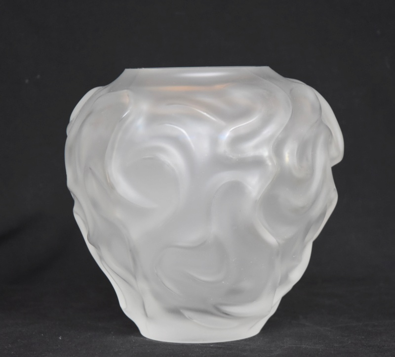 Vase en cristal : Cristallerie de Haute Bretagne Dsc_0070