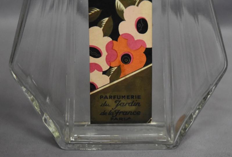 Flacon Eau de Cologne Parfumerie du Jardin de la France Paris Dsc_0077