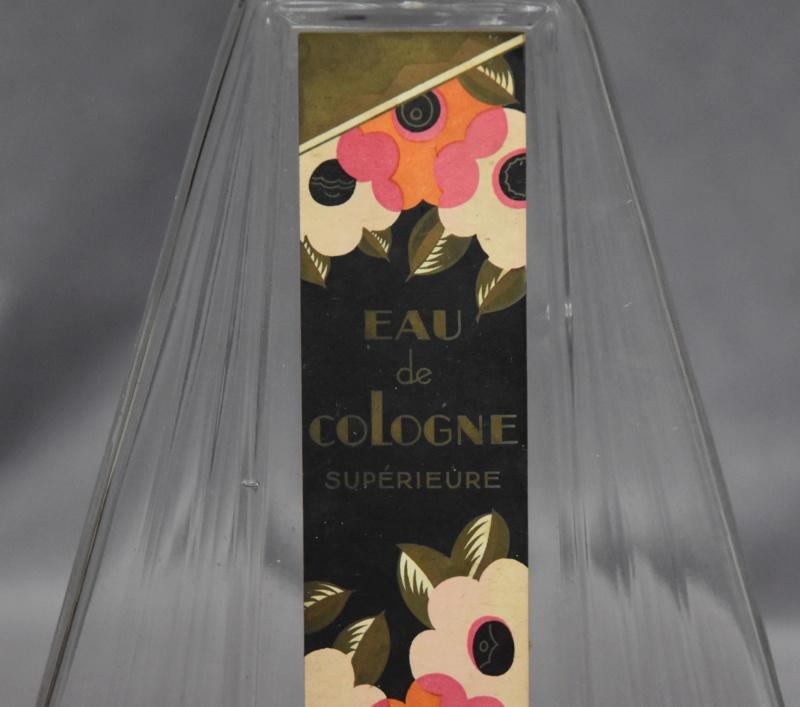Flacon Eau de Cologne Parfumerie du Jardin de la France Paris Dsc_0078