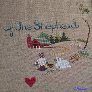 """Ma toile """"Voice of the Shepherd""""... Voice_14"""