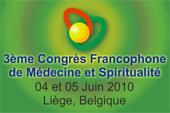 3eme Congrès Francophone de Médecine & Spiritualité Congre10