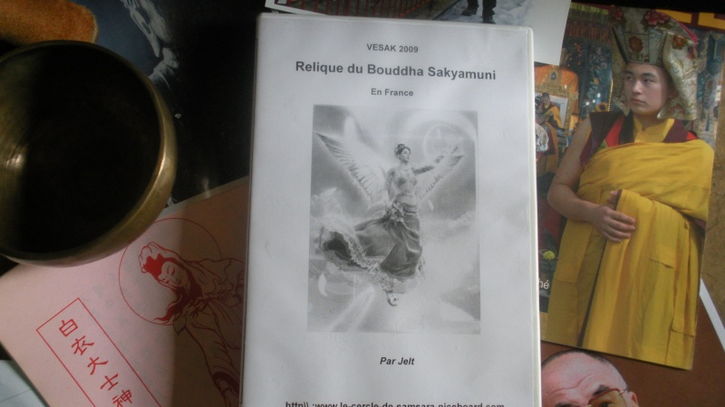 DVD Vidéo Relique du Bouddha Sakyamuni Dscn3210