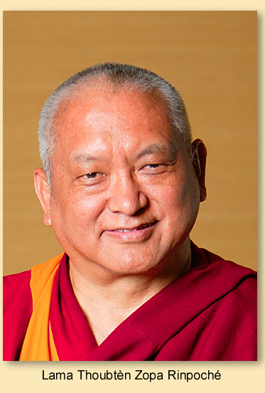 Se découvrir au Travers du Boudhisme selon Lama Thoubten Yéshé Lama_t10