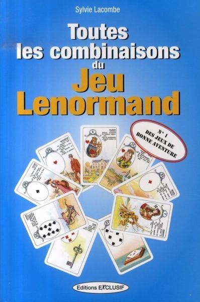 Livre - Toutes les combinaisons du Jeu Lenormand Toutes10