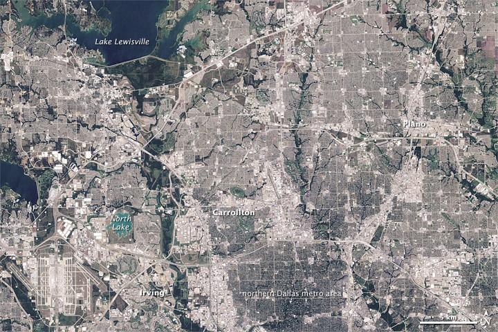 L'urbanisation effrénée : ou quand la ville grignotte la nature... Dallas10