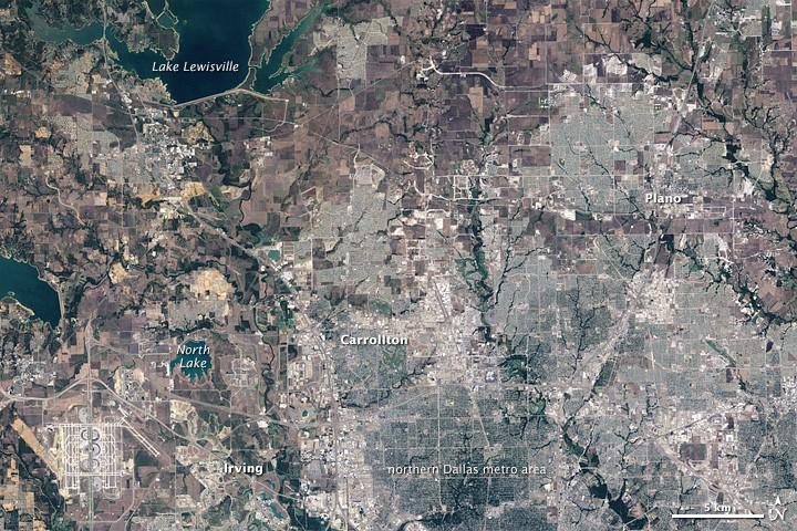 L'urbanisation effrénée : ou quand la ville grignotte la nature... Dallas11