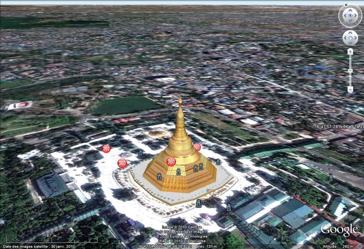La pagode Shwedagon, Yangon, Birmanie Sans_575