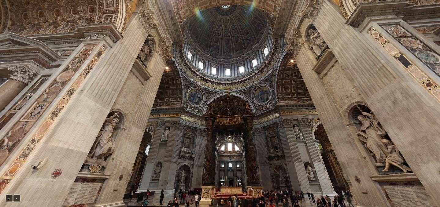 Le Vatican et la Place Saint-Pierre de Rome en visite virtuelle Sans_581