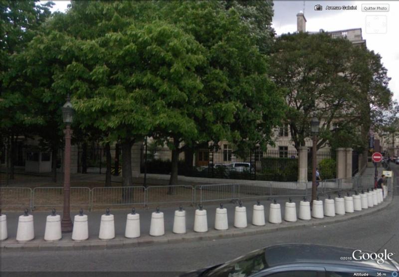 Les ambassades étrangères en France vues depuis Google Earth Sans_624