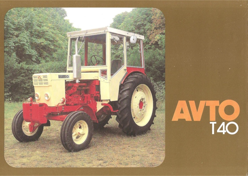 Tracteur Avto T40 Avto_b25
