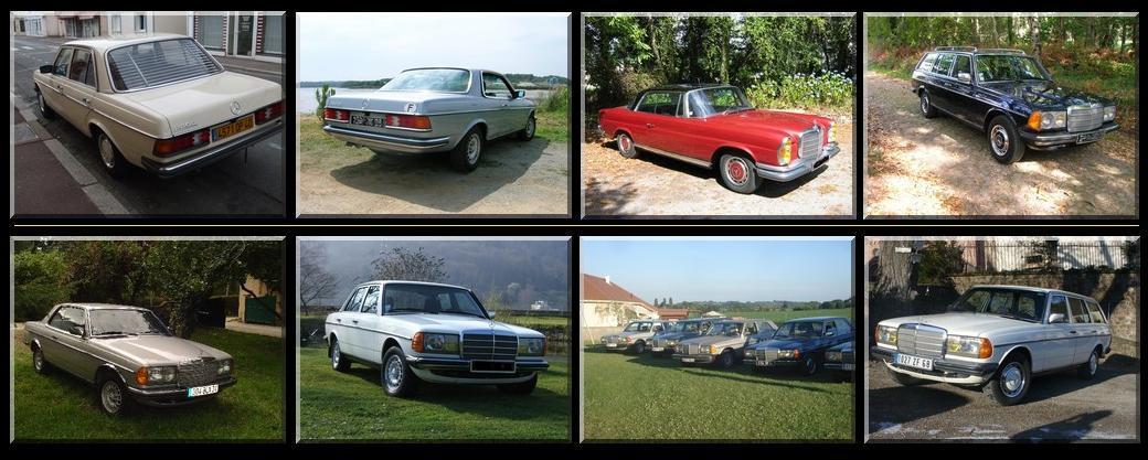 TOUT SUR LES MERCEDES des années 1970/80 - Portail N511