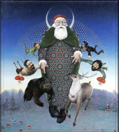 RADIOGRAFÍA DE SANTA CLAUS Santa11