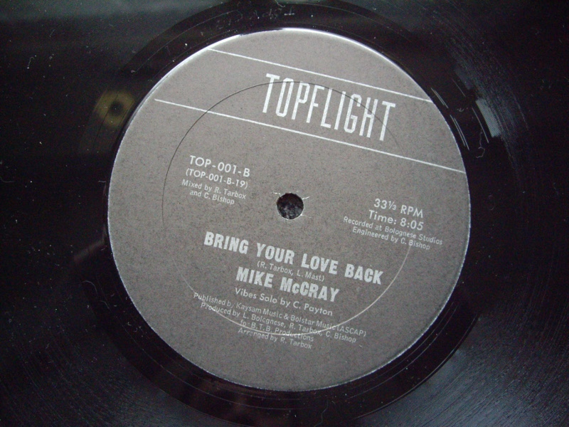 "12 "" Mike McCray - Bring Your Love Back 198? Mike_m10"