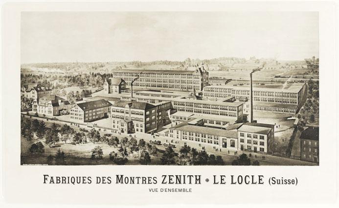 Une histoire d'amour secrète hante l'histoire de la manufacture ZENITH Lelocl10