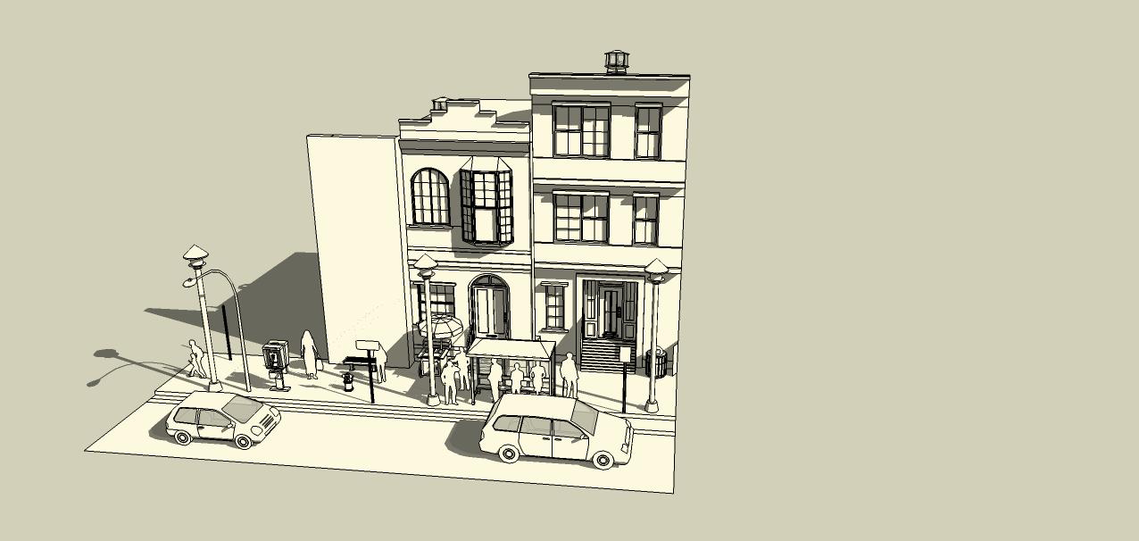 SketchUp'eur architecte -AnthO'- - Page 3 Facade10
