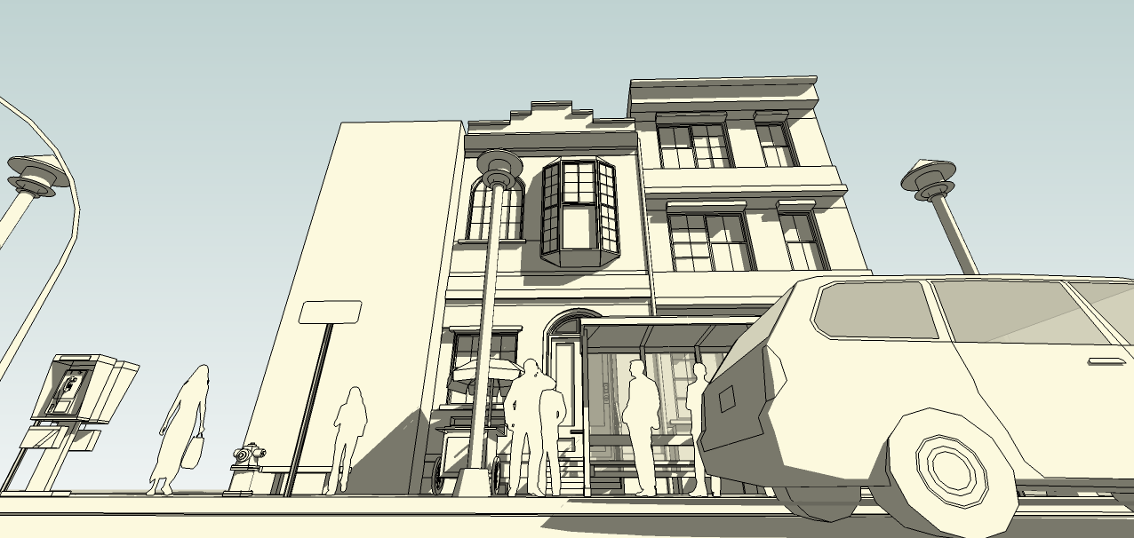 SketchUp'eur architecte -AnthO'- - Page 2 Facade14