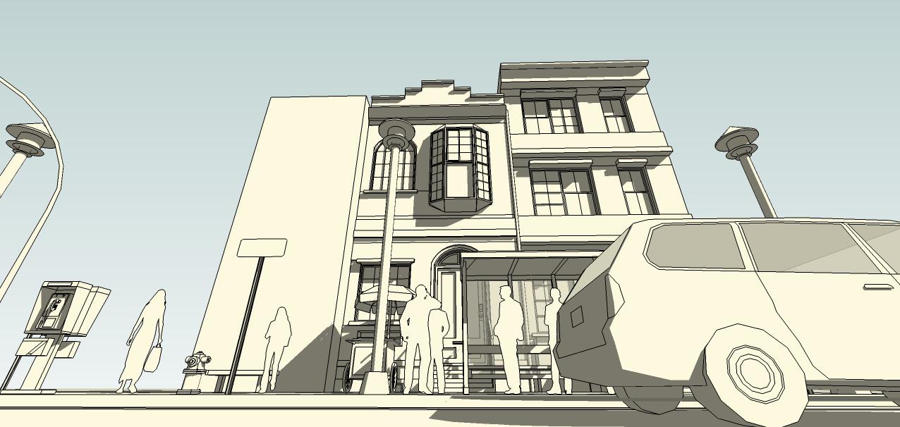 SketchUp'eur architecte -AnthO'- - Page 3 Facade14