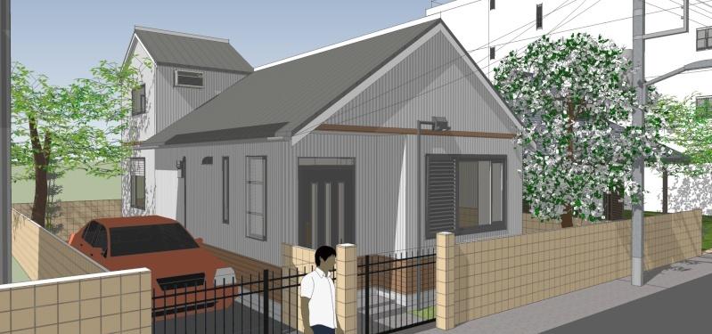 SketchUp'eur architecte -AnthO'- - Page 16 Maison11