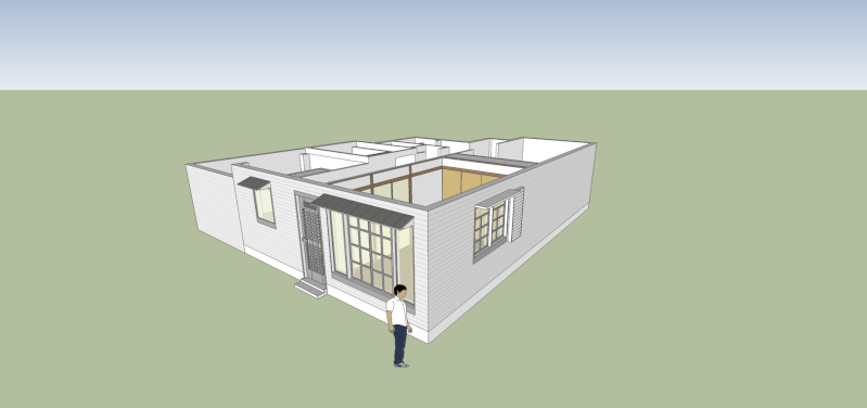 SketchUp'eur architecte -AnthO'- - Page 15 Maison13