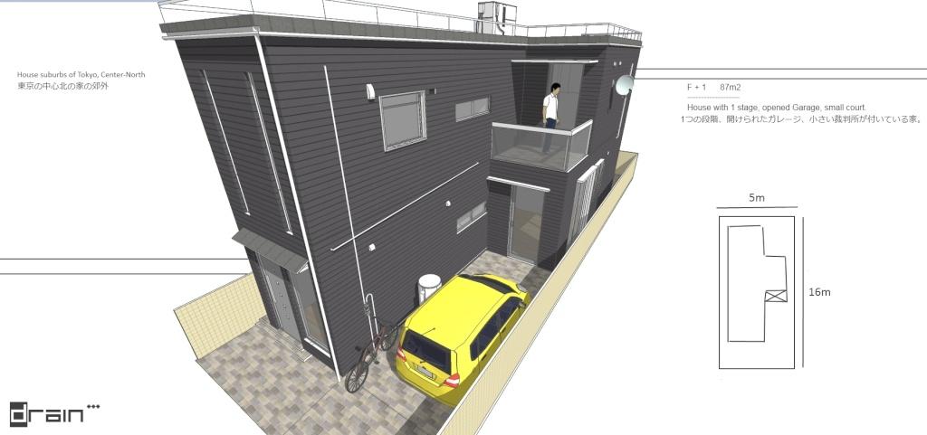 SketchUp'eur architecte -AnthO'- - Page 17 Maison14