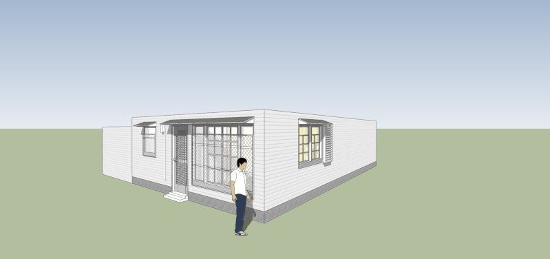 SketchUp'eur architecte -AnthO'- - Page 15 Maison14