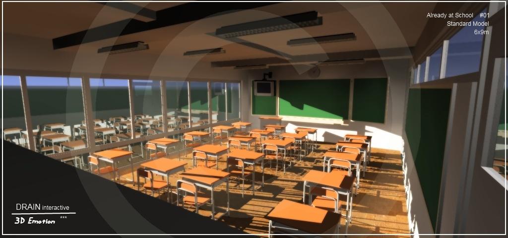 SketchUp'eur architecte -AnthO'- - Page 17 School10