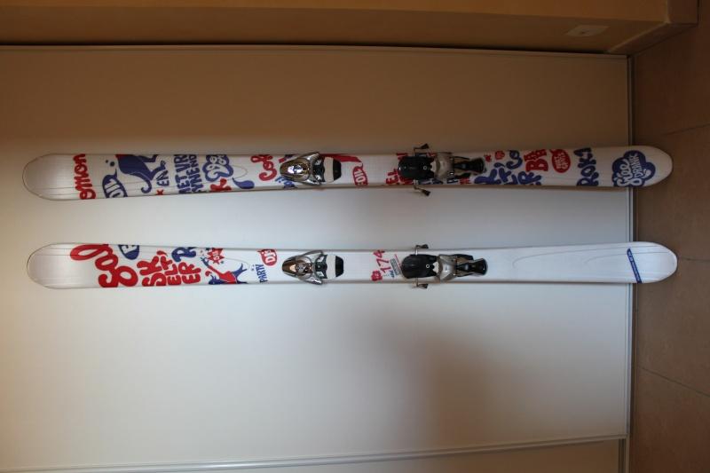 VENDU Vends Ski Freestyle Salomon 1080 Foil 200€ Ski_0010