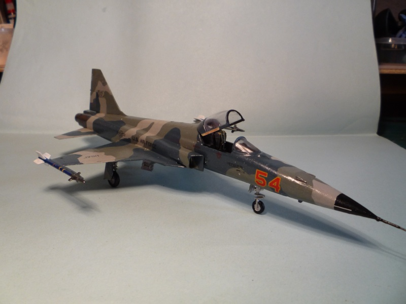 F-5e Tiger 2 1/72 Airfix from the box P1070736