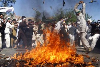 Afganistán Protes16