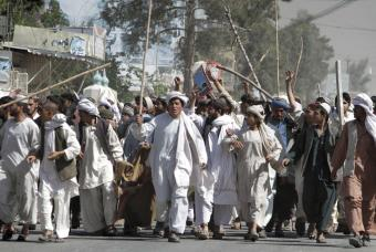 Afganistán Protes17