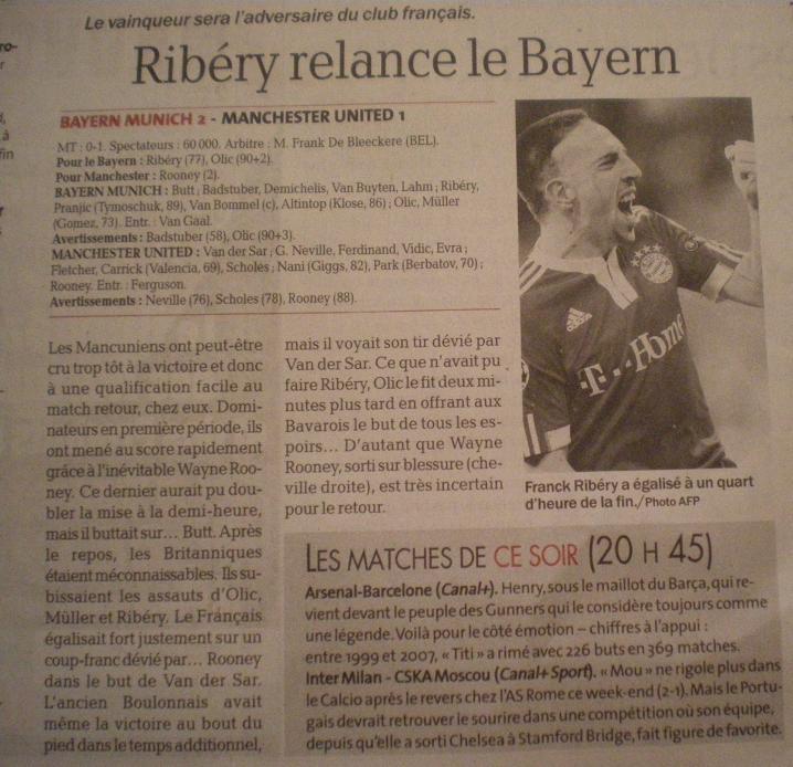 FRANCK RIBERY, LE KAISER - Page 2 Imgp1045