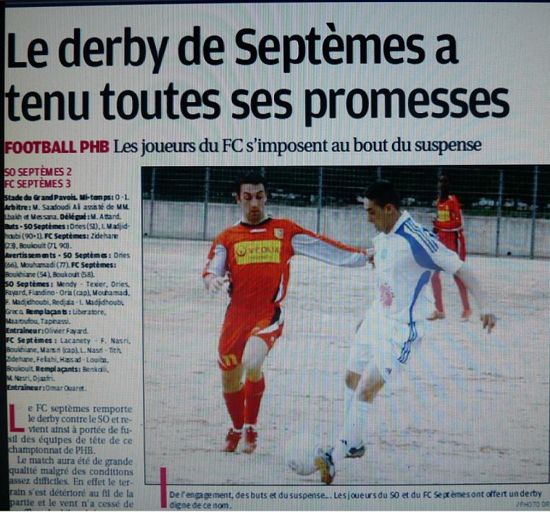 FC SEPTEMES  ET SO SEPTEMES  P1070870