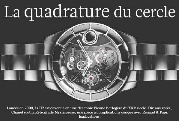 News : la nouvelle Chanel J12 by Renaud et Papi J1210