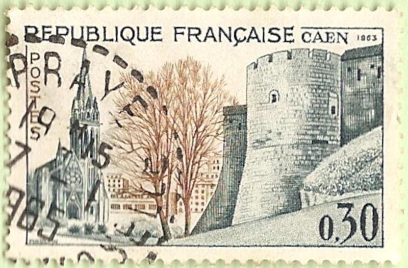 La France par ses timbres sous Google Earth - Page 15 Caen10