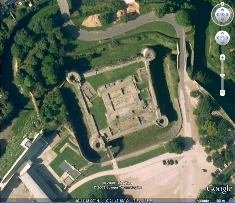 La France par ses timbres sous Google Earth - Page 15 Caen110