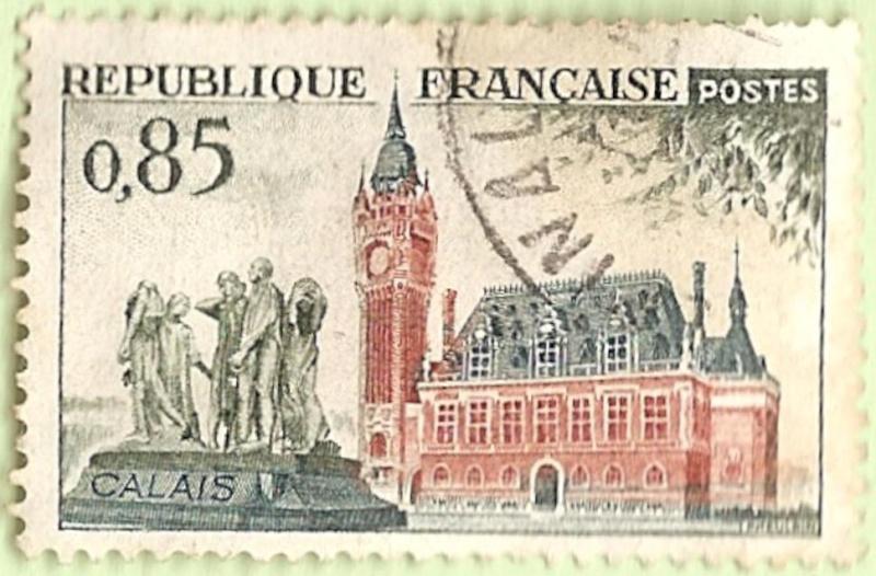 La France par ses timbres sous Google Earth - Page 15 Calais13