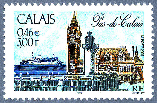 La France par ses timbres sous Google Earth - Page 15 Calais14