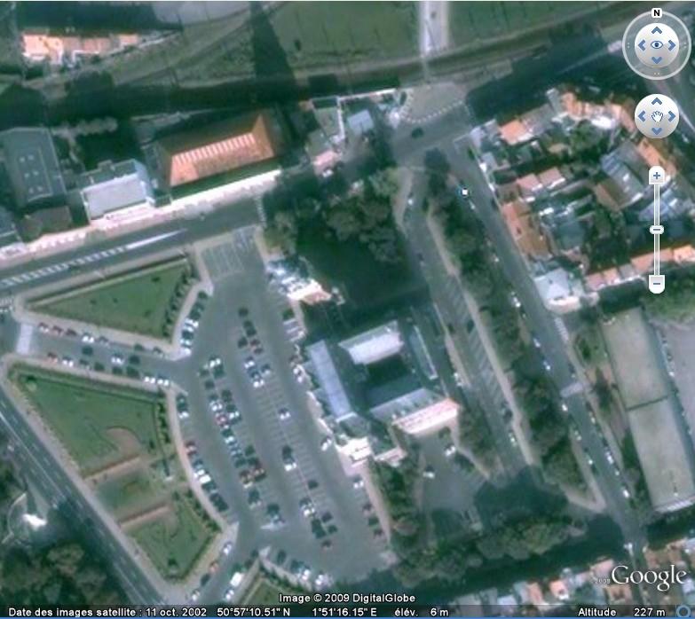 La France par ses timbres sous Google Earth - Page 15 Calais15