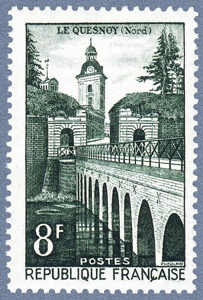 La France par ses timbres sous Google Earth - Page 16 Le_que10