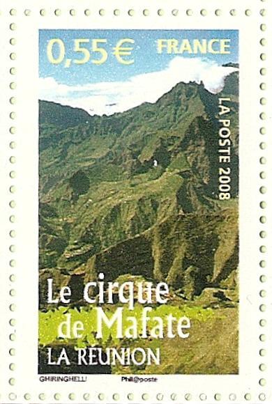 La France par ses timbres sous Google Earth - Page 15 Mafate10