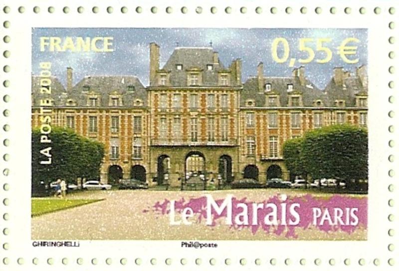 La France par ses timbres sous Google Earth - Page 15 Marais10