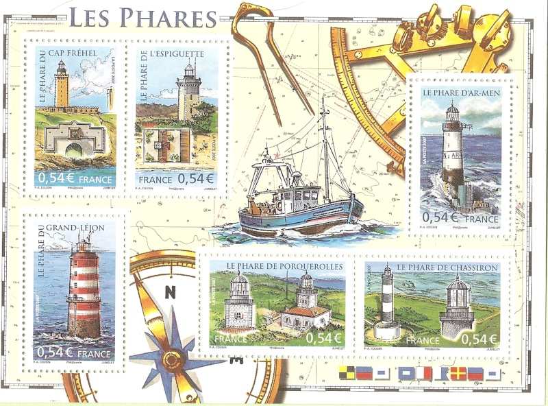 La France par ses timbres sous Google Earth - Page 15 Phares10